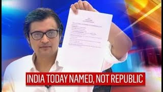 Arnab Goswami's Message As India Today Emerges In FIR Mumbai CP Used To Claim TRP Scam, Not Republic