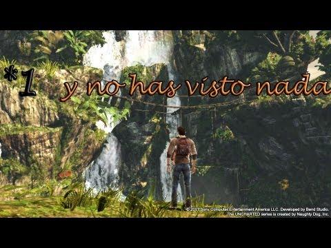 (guia de trofeos) Uncharted El Abismo de Oro Ps Vita español (cap.1)