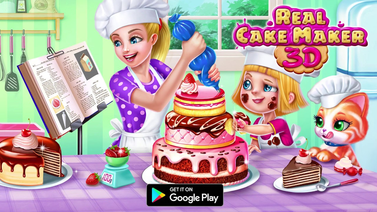 real cake maker 3d tabtale youtube