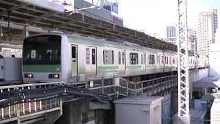 JR山手線E231系500番台トウ528編成内回り列車