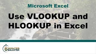 Using VLOOKUP and HLOOKUP in Excel