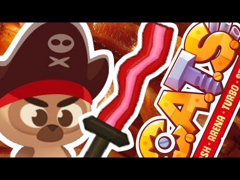 QUEST FOR THE BACON SWORD!  C.A.T.S. Crash Arena Turbo Stars