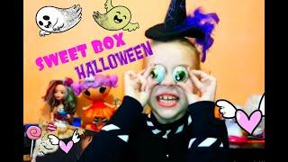Відео-огляд Sweet Box - бокс солодощів Хелловін 2019 Частина 1