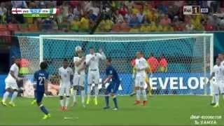Pirlo INCREDIBLE Free Kick HD - Italy vs England @ World Cup 2014