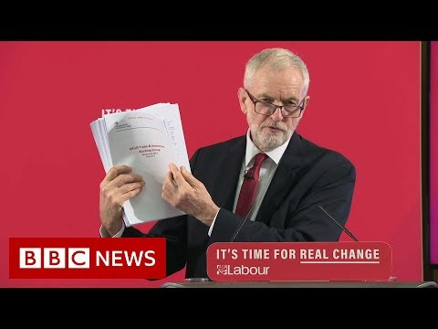 General Election 2019: Row over Labour's 'NHS for sale' claim - BBC News
