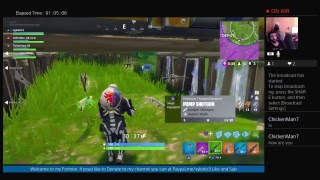 Sykotic3's Fortnite Fun Livestream Getting Crunk Son