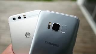 Samsung Galaxy S8 vs Huawei P10 - Camera Test