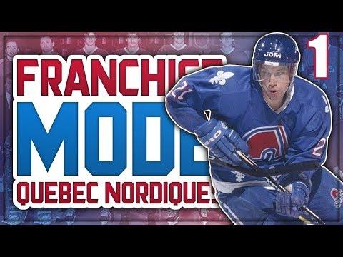NHL 18 Franchise Mode - Quebec Nordiques #1 'FIRST TRADES'