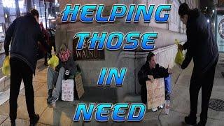 getlinkyoutube.com-FEEDING THE HOMELESS ON THANKSGIVING