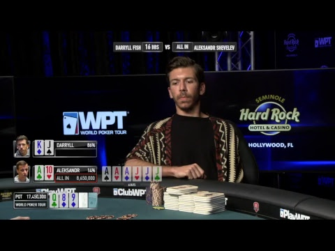 Watch Full World Poker Tour Lucky Hearts Poker Open Final Table