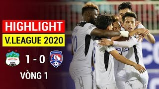 Highlight   Hoang Anh Gia Lai vs Than Quang Ninh   Round 1 V.League 2020