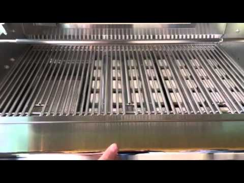 Delta Heat Grill in challenger cart