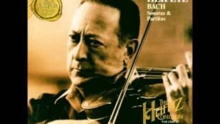 Jasha Heifetz Bach Partita E major Gigue