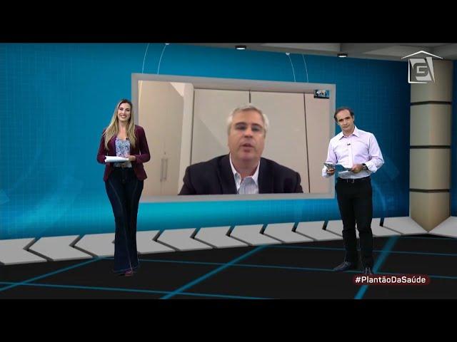 Plantão Saúde - TV Gazeta - Entrevista Carlos Eduardo Gouvêa