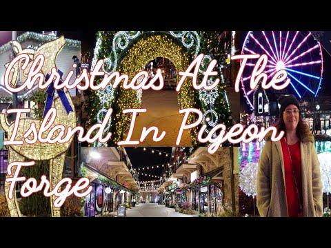 The Island in Pigeon Forge Christmas lights - YouTube
