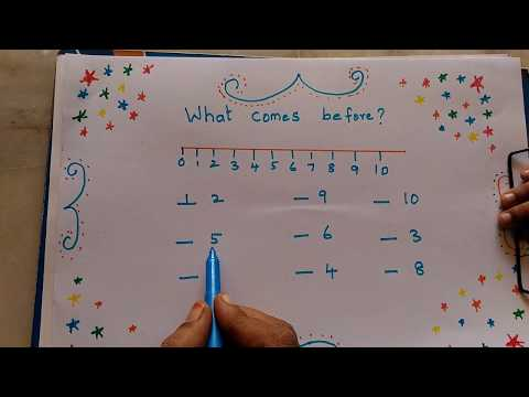 HOW TO TEACH BEFORE NUMBER