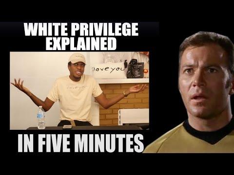 Viral White Privilege Video - DEBUNKED, DESTROYED, DEMOLISHED.