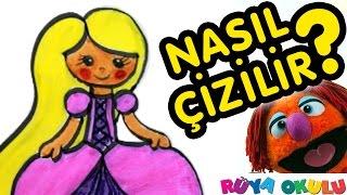 Video Rapunzel Nasıl Çizilir? - Prenses 2 - Resim Çizme - RÜYA OKULU download MP3, 3GP, MP4, WEBM, AVI, FLV November 2017