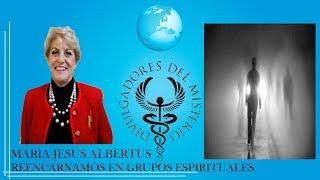 REENCARNAMOS EN GRUPOS ESPIRITUALES  por Maria Jesus Albertus