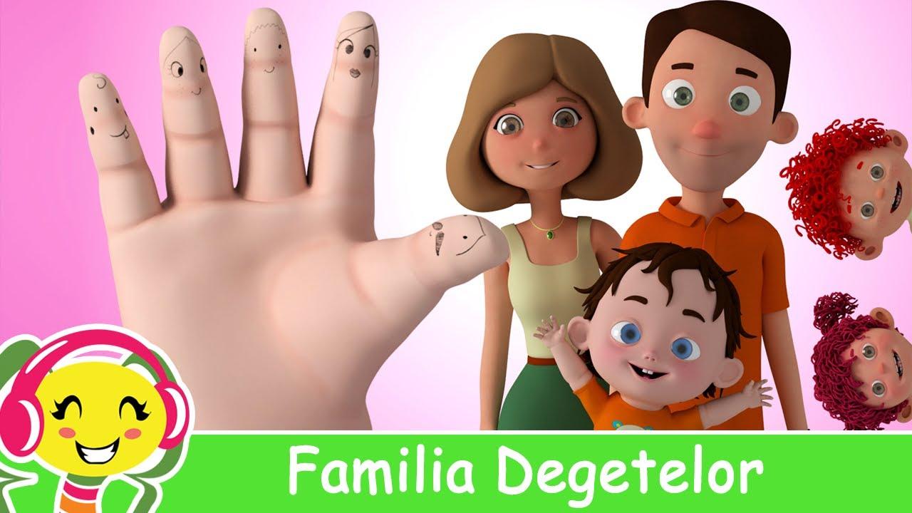 Familia Degetelor ? Muzica pentru copii si bebelusi | CanteceGradinita