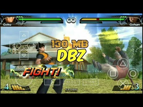 Dragon Ball Z Evolution High Graphics Psp Android || Highly Compressed 130 MB || (Hindi)
