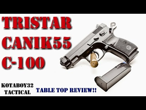 Tri Star C 100 9mm Complete Review!!  Awesome Compact Pistol