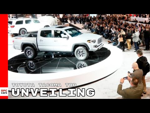 2020 Toyota Tacoma TRD Unveiling
