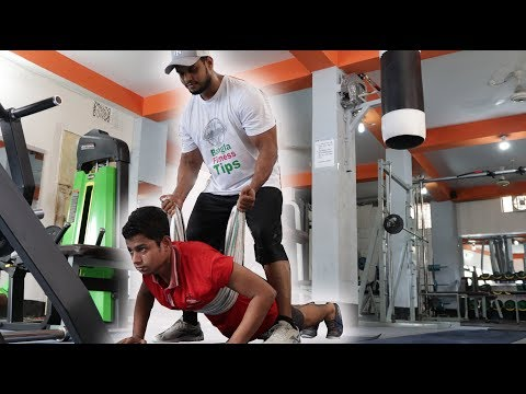First Day at gym | Beginner workout Chest & triceps | Bangla Fitness Tips thumbnail