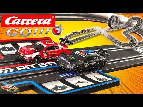 Carrera Go Plus Circuit de Voitures DTM Speed Record