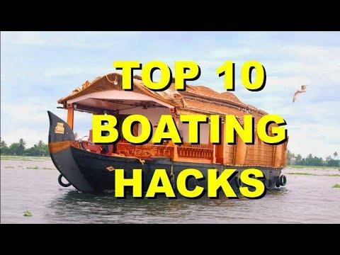 TOP 10 BOATING HACKS