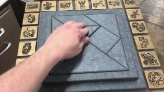 Evilusions Mayan Tangram Pedestal