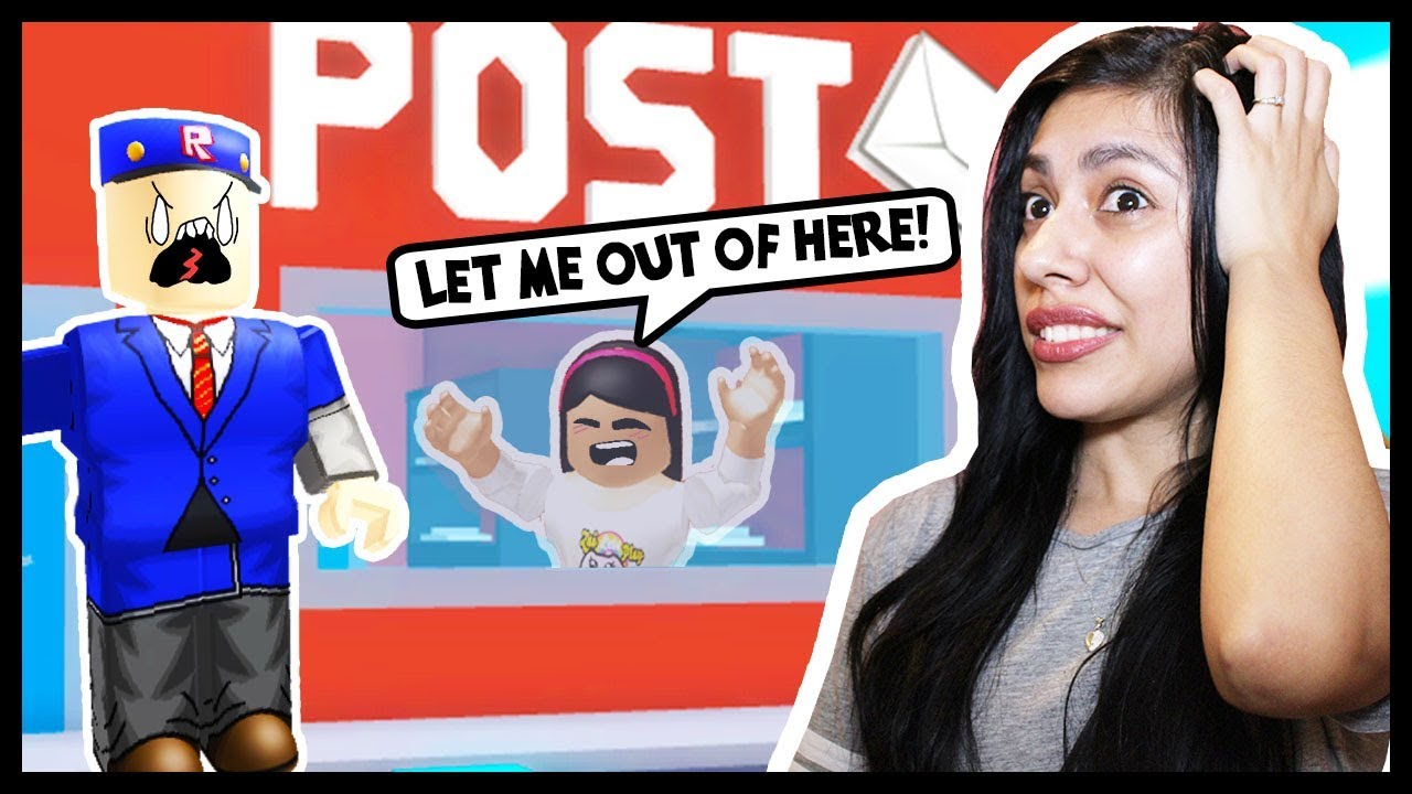 My Boyfriend Got Me Trapped At The Post Office Roblox Roleplay