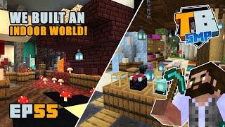 UPGRADING the Mini-Block shop!   Truly Bedrock Season 2 [55] Minecraft Bedrock SMP
