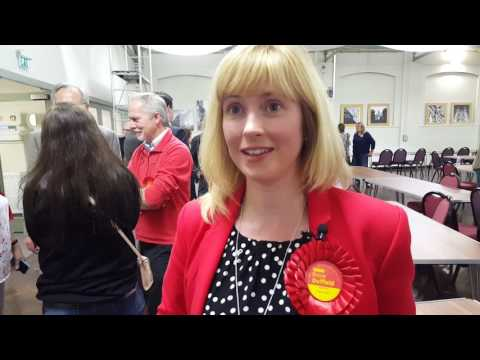 Rosie Duffield's historic win in Canterbury