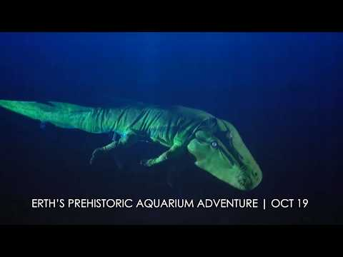 Erth's Prehistoric Aquarium Adventure Coming October 19, 2019