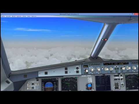 Aerosoft Airbus X Extended, tutorial from EDDT (Berlin Tekel) to EDDE (Erfurt)