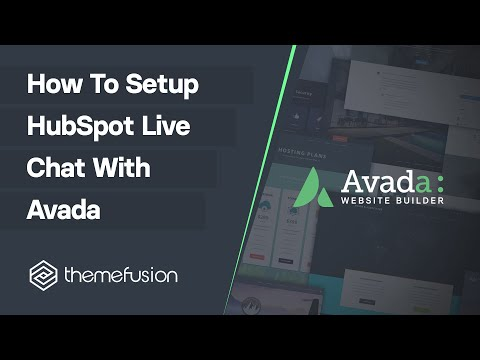 How To Set Up HubSpot Live Chat With Avada