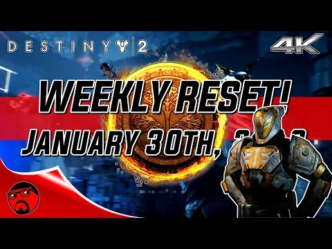 Destiny 2 Weekly Reset - Update 1.1.2 Is Live & Iron Banner Is Back! [4K]