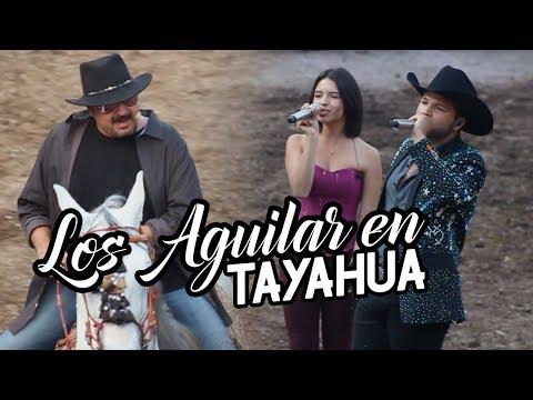Pepe, 脕ngela y Leonardo Aguilar en Tayahua Zacatecas