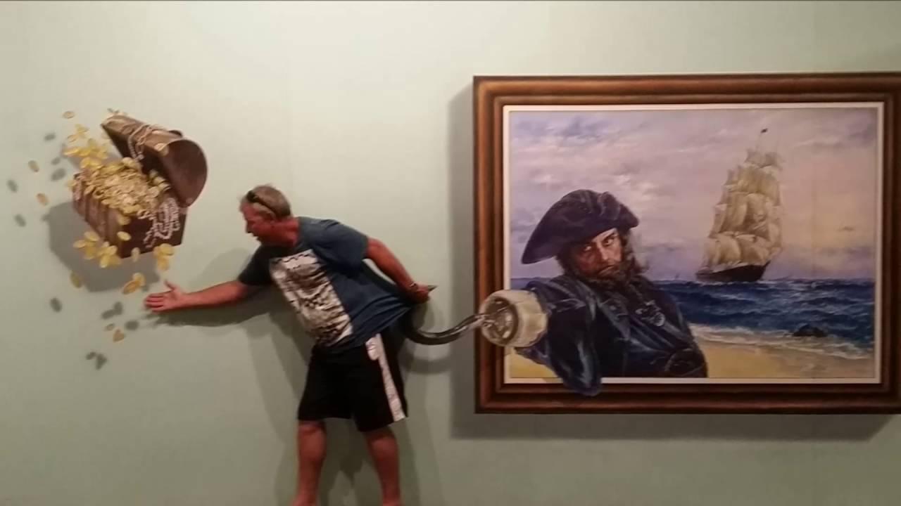 Art Samui Trick Art 3d Art Gallery Part Five Youtube