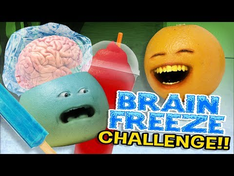 Annoying Orange - Brain Freeze Challenge!