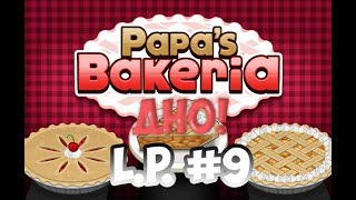 Играем в Papa's Bakeria|L.P. Manya #9 (Пекарня папы Луи)