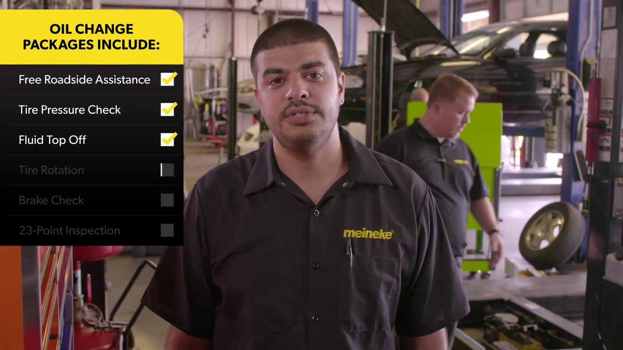 Meineke Oil Change >> Oil Change Service At Meineke Car Care