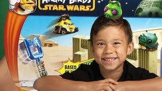 angry birds star wars toy fight on tatooine battle game review unboxing