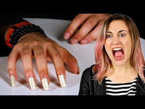 Thumbnail: Nail-Biters Wear Kylie Jenner-Style Nails