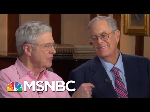 Did President Donald Trump Make A Mistake By Slamming The Koch Brothers? | Velshi & Ruhle | MSNBC