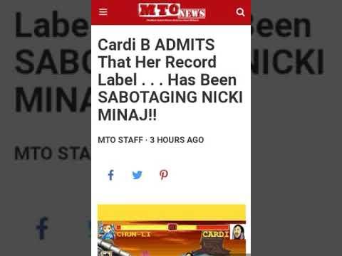 Cardi B admits that Atlantic Record has been Sabotaging Nicki Minaj's Career ♻ Lil Kim RemyMa Karma?