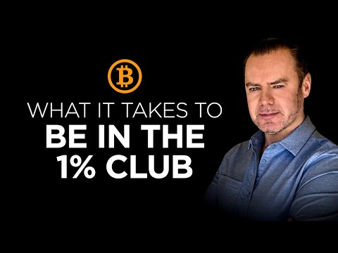 How To Crack The Bitcoin 1% Club And All Other Holdings Stratified:  #BTC #BTCWealth