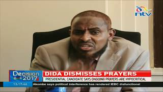 Abduba Dida downplays national prayer day terms it hypocrisy of the highest order