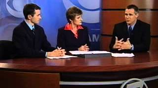 May 2008 on KOAM - Viewpoint from new reporter in Newton County, MO storm aftermath